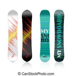 Snowboard design