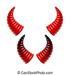 Devil's horns
