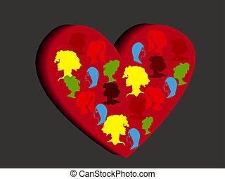 Valentines Day background. 2