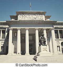 Prado Museum - MADRID - AUGUST 6: Prado Museum in Madrid...