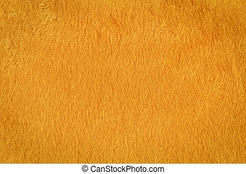 Orange artificial fur texture - Texture of a orange...