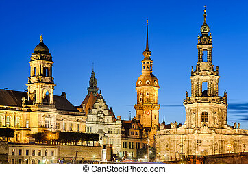 Towers of Dresden, Germany