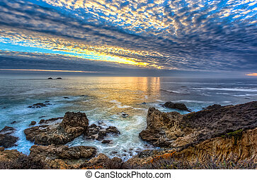 Garrapata State Beach Sunset