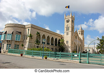 Parliament building,Bridgetown - Parliament Building in...