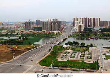 City Scenery in North China region - City Scenery in Luannan...