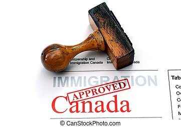 Immigration Canada - approved