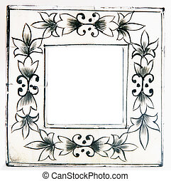 Ivory photo frame - cute ivory photo frame