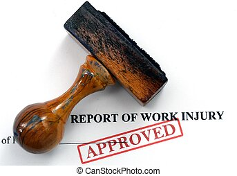 Work injury report