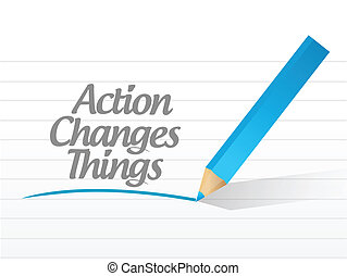 action changes things message currency chat communication