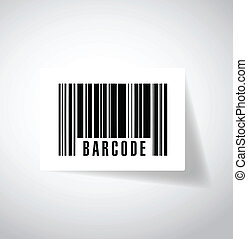 barcode or upc illustration design over a white background