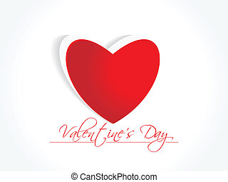 Abstract Vector Heart for Valentine - Vector valentines day...