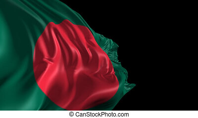 Flag of Bangladesh - Beautiful 3d animation of the Flag of...