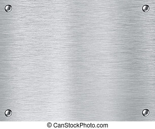 Steel metal textured plate background