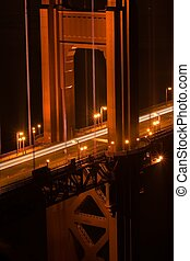 Golden Gate Bridge is a suspension bridge spanning the...