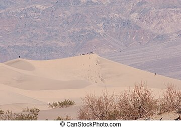 Stovepipe Wells Sand Dunes - Stovepipe Wells is a small...
