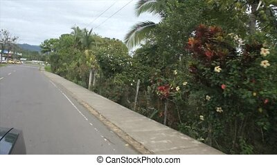 caribbean summer ride - bus tour through panama