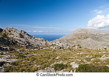 Serra de Tramuntana - mountains on Mallorca, Spain