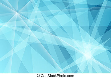 Abstract shattered blue shards background