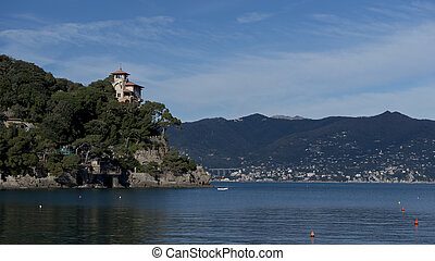 Coastline near Portofino - The coast near Portofino facing...