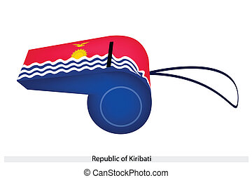A Whistle of The Republic of Kiribati
