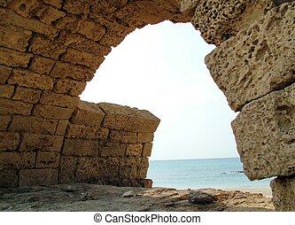 Aqueduct in Caesarea