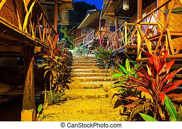 Bungalow - wooden bungalow