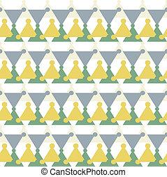 手ざわり, 三角, 要素