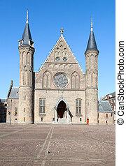 Binnenhof - Famous parliament and court building complex...
