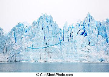 Perito Moreno Glacier in Patagonia, Argentina in Winter
