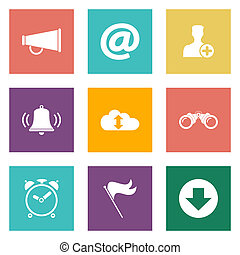 Icons for Web Design and Mobile Applications.