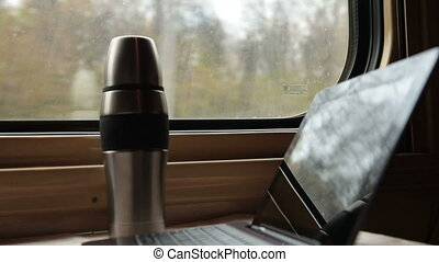 Traveling by train with transformer pad - Transformer pad...