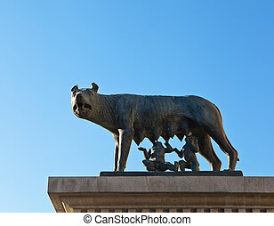 Romulus and Remus are Rome's twin founders in its...