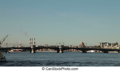 Saint Petersburg Landmarks - Neva river