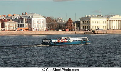 Saint Petersburg Landmarks - Neva river embankment