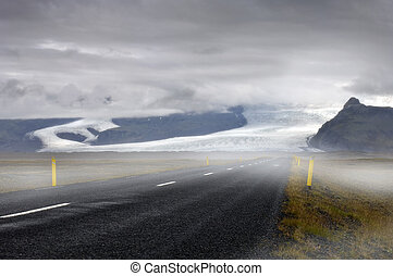 Icelandic Saga - The mystical feel of the road towards the...