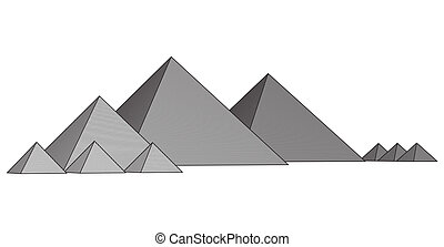Pyramids From The Giza Plateau - Egypt Cairo - Giza General...