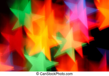 falling stars abstract blur - Falling stars abstract lights...