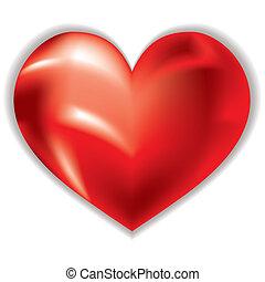 love heart shimmer