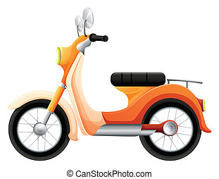 A two-wheeled transportation - Illustration of a two-wheeled...