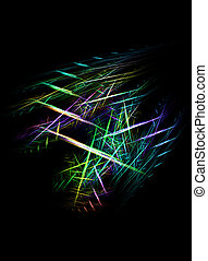 Abstract vibrant criss cross - Vibrant abstract criss cross...