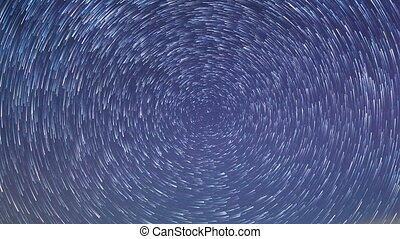 Stars leave traces Time Lapse