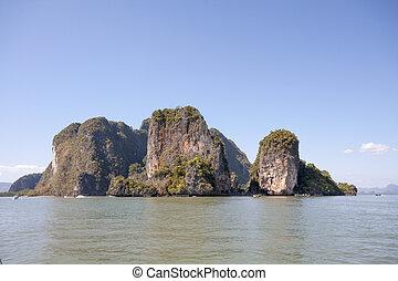 Phang Nga Bay 3 - Koh Hong in Phang Nga Bay, Thailand