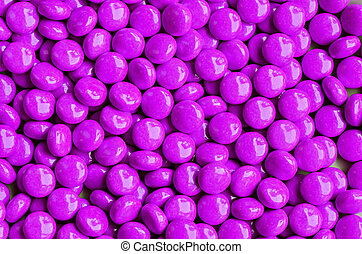 violet sweet candies