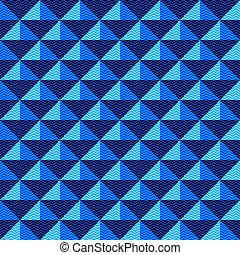Seamless geometric zigzag pattern