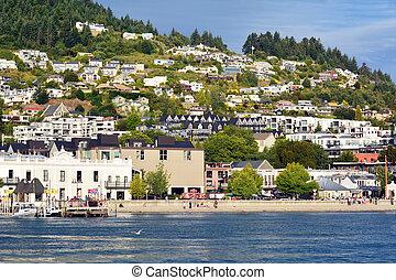Queenstown New Zealand - QUEENSTOWN, NZ - JAN 15:Queenstown...