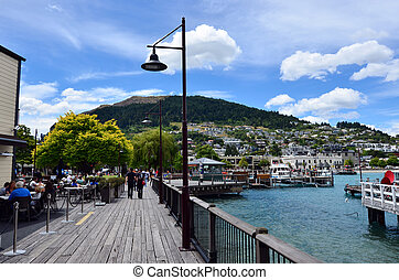 Queenstown New Zealand - QUEENSTOWN, NZ - JAN 16...