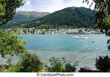 Queenstown New Zealand - QUEENSTOWN, NZ - JAN 16:Queenstown...