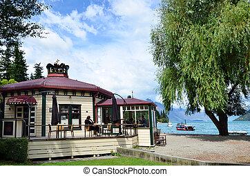 Queenstown New Zealand - QUEENSTOWN, NZ - JAN 16:Queenstown...