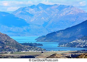 Queenstown New Zealand - Landscape of Queenstown, New...