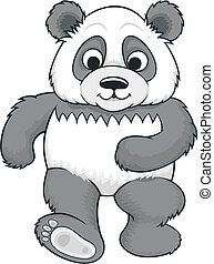 cartoon panda 02